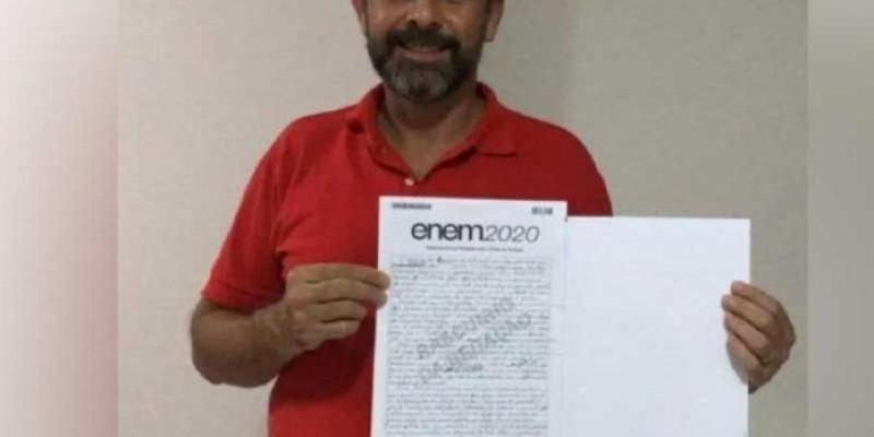 Ex-sem teto se livra das drogas e tira 920 na redação do Enem