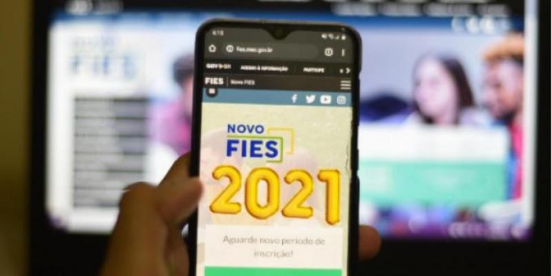 Fies 2021 abre inscrições nesta terça