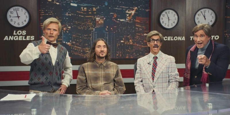 Vem aí, o novo giro mundial do Red Hot Chili Peppers