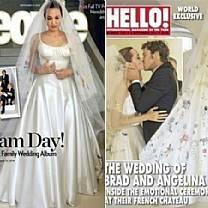 Brad e Angelina decidem doar dinheiro recebido por fotos de casamento