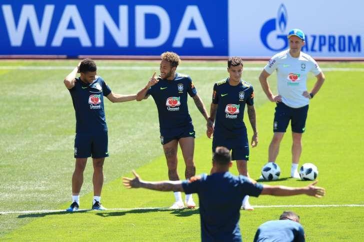 Seleção brasileira: Primeiro treino na Rússia