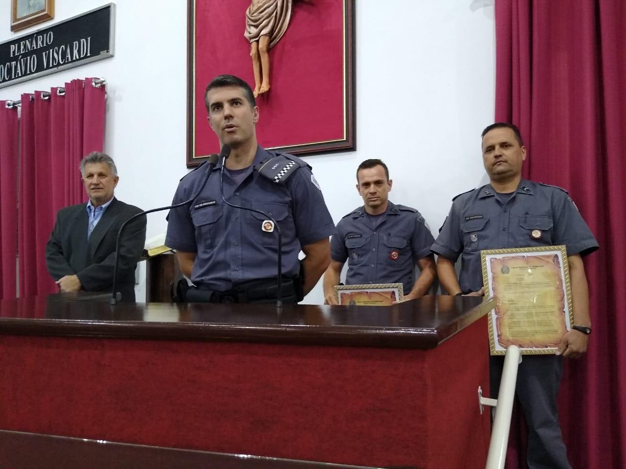 Policiais Militares são homenageados na Câmara