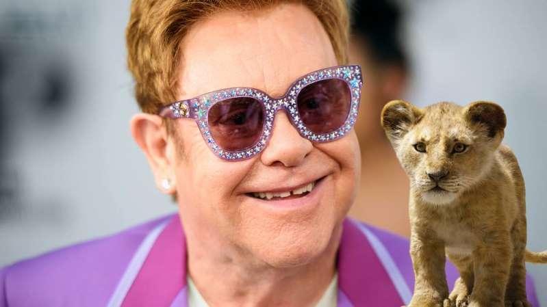 Elton John não gostou da trilha sonora do remake de O Rei Leão