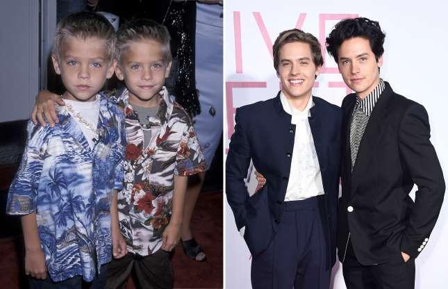 Como eram os famosos quando eram crianças?