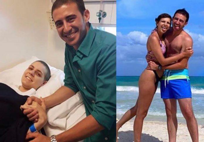 Casal se conhece em hospital e vence câncer junto
