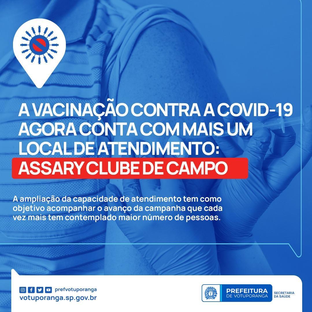 AMPLIAÇÃO DOS POSTOS DE VACINA COVID-19