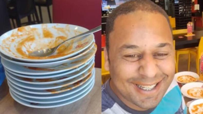 Homem é expulso de rodízio por comer demais